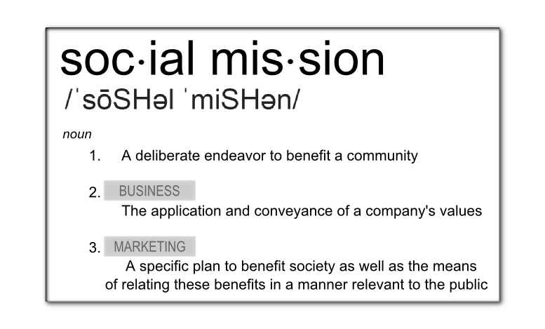 Social Mission Definition